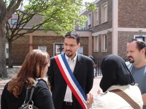 Echange entre Z.BEN AMAR et les parents de l'école Balzac