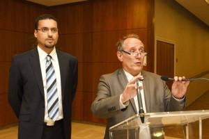 Patrick Jarry et Zacharia Ben Amar