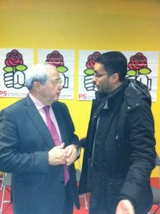 Echange avec Jean Paul Huchon président de la Région Ile de France